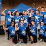 Notre formidable Plan Run Team s'apprête à prendre le départ du StrongmanRun à Anvers.
