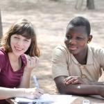 Marlies en Padèlle bundelen hun kennis rond meisjesrechten.